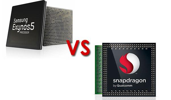 Exynos Octa vs Snapdragon S4