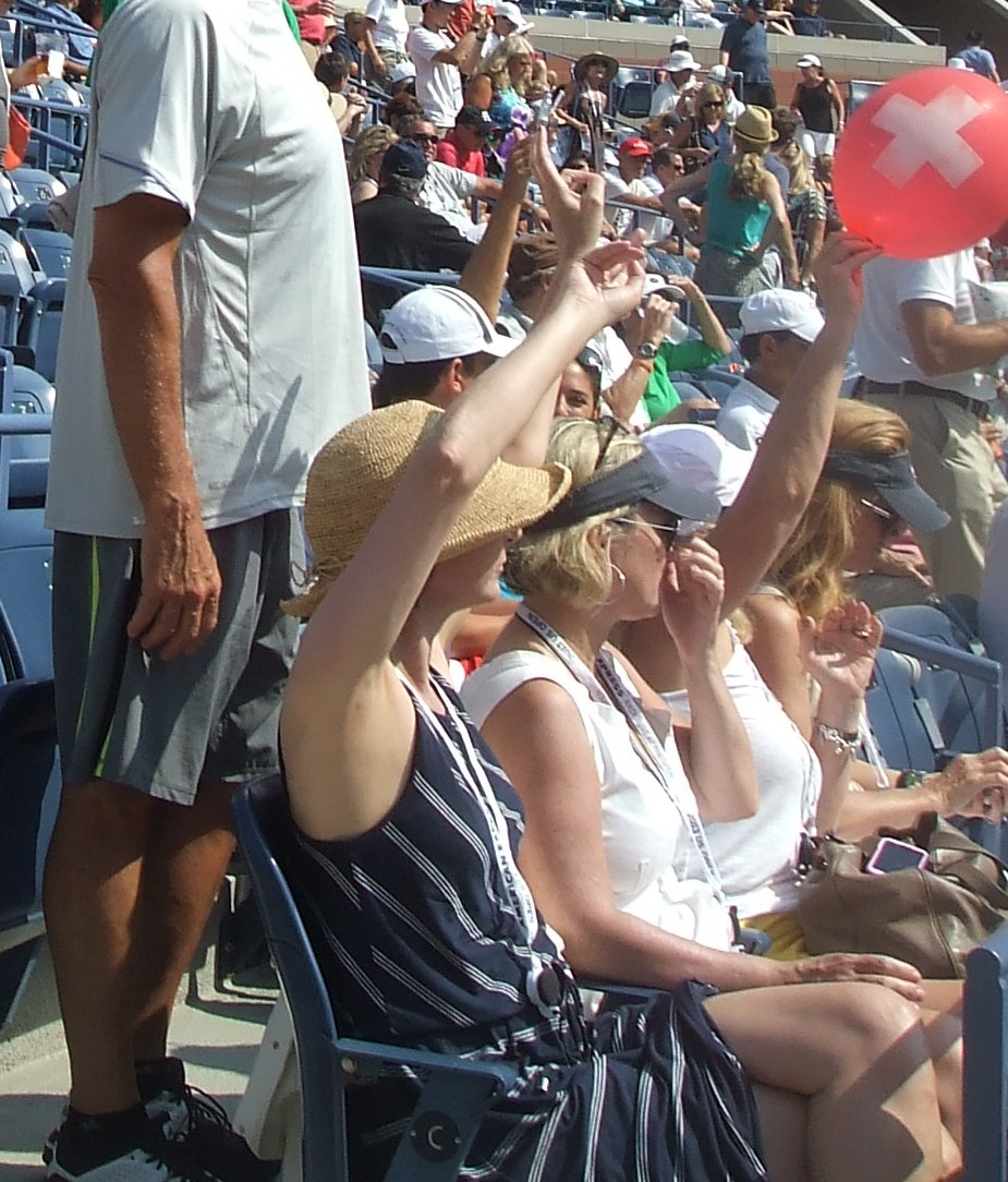 Summer Hats at the US Open Tennis
