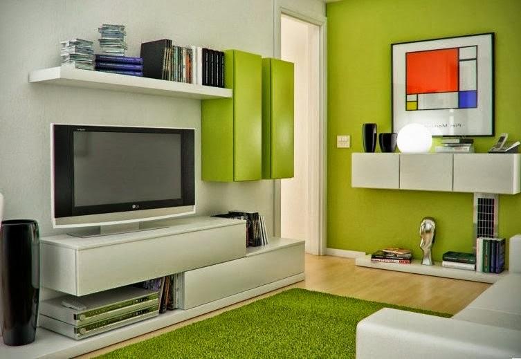 Desain ruang keluarga 6