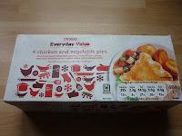 Tesco everyday value pies