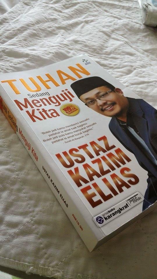 Buku hasil nukilan Ustaz Kazim Elias