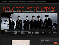 Colored K-Pop Lyrics