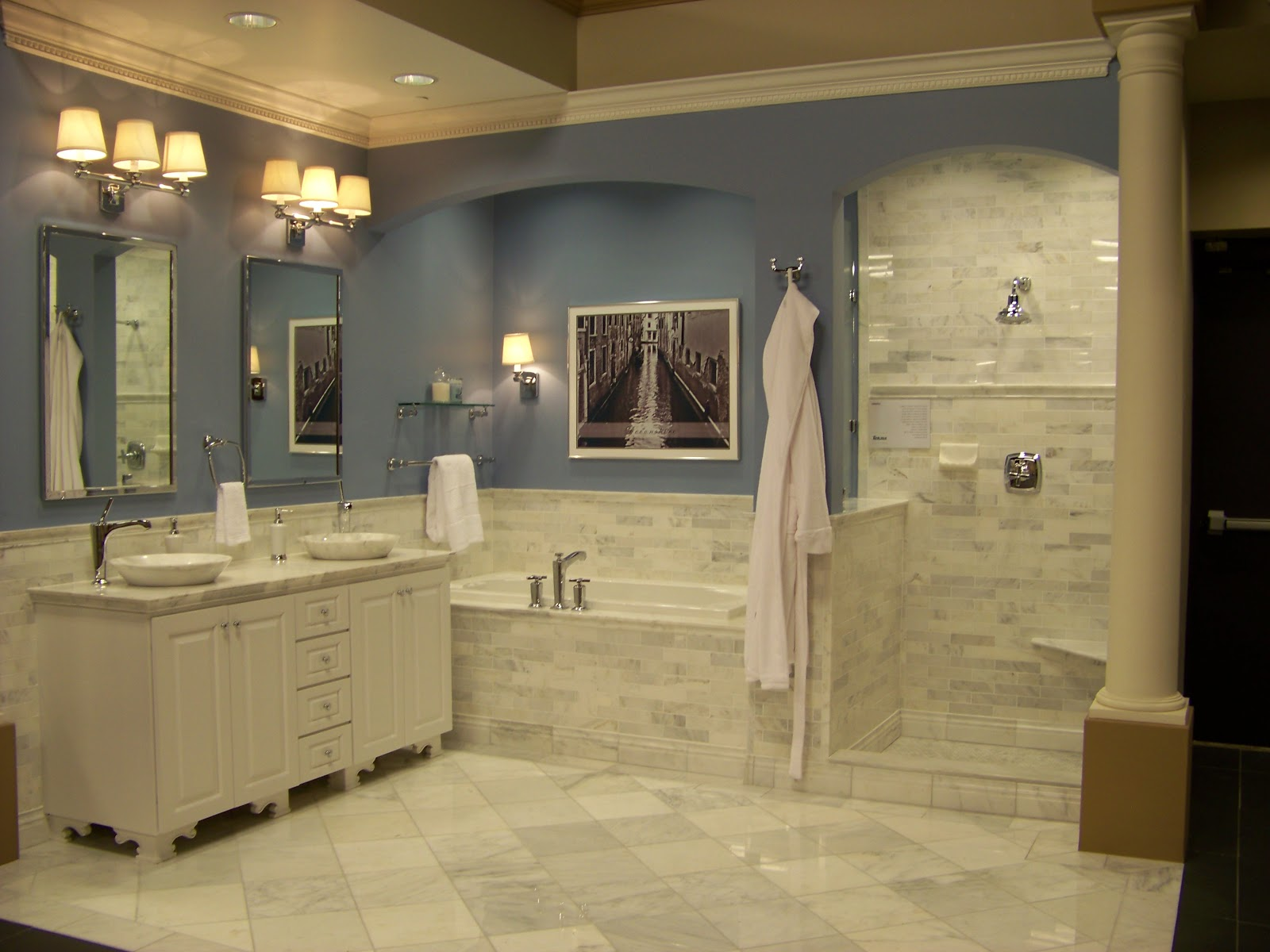 Home decor budgetista bathroom inspiration the tile shop Bathroom tile stores