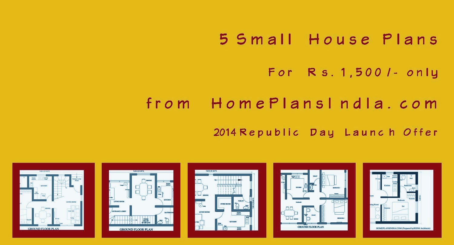 2014 Republic Day Offer from HomePlansIndia.com