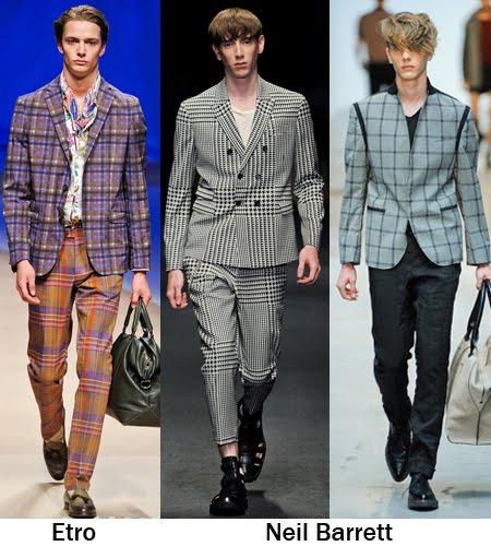 мъжки костюми каре пролет-лято 2012