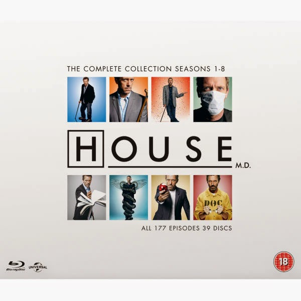 Blu Ray - Dr. House Complete Collection inkl. Dt. Tonspur für  68,99€
