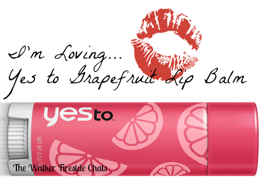 Yes to Grapefruit Lip Balm