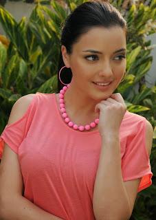 Australian Bollywood Actress Kristina Akheeva Picturet Gallery in Denim Jeans  25.JPG
