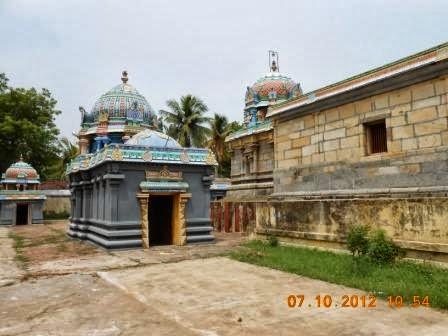 Sri Neelakandeswarar Temple, Thirumannippadikkarai, Mayiladuthurai - 275 Shiva Temples