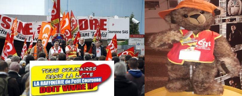Blog des salariés de la raffinerie de Petroplus à Petit-Couronne