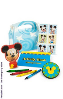 Disney Mickey's 1st Birthday Party Favor Box