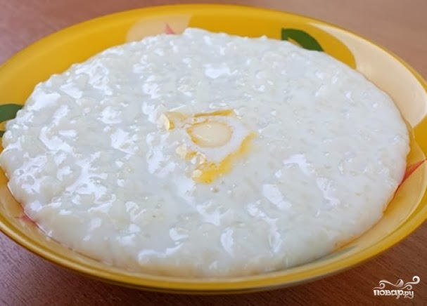 Каша риса рецепт фото