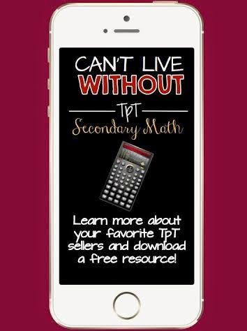 https://www.teacherspayteachers.com/Product/Cant-Live-Without-It-eBook-Math-Grades-6-12-FREE-1685377