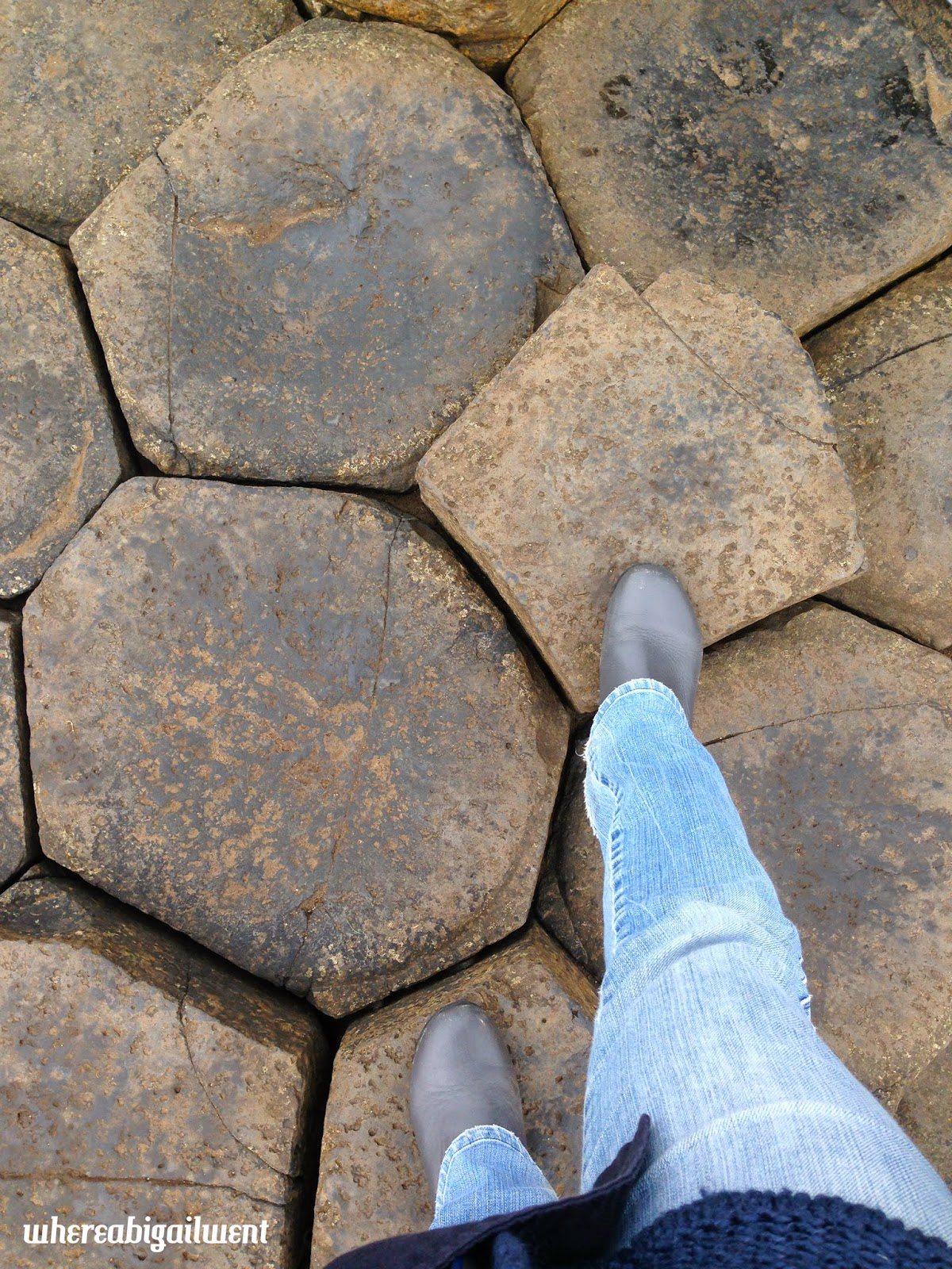 Climbing the Giant's Causeway