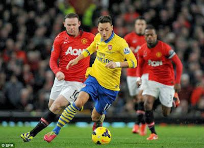Xem lại đầy đủ trận Man United vs Arsenal