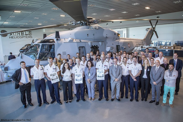 Airbus Helicopters delivers 15th NH90 NFH to the French Navy