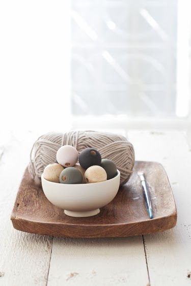 Salvamanteles con abalorios en Recicla Inventa