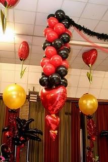 Balon Lampion Standar Tumpuk Microfoil