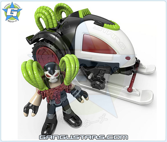 Imaginext DC Super Friends Bane Battle Sled