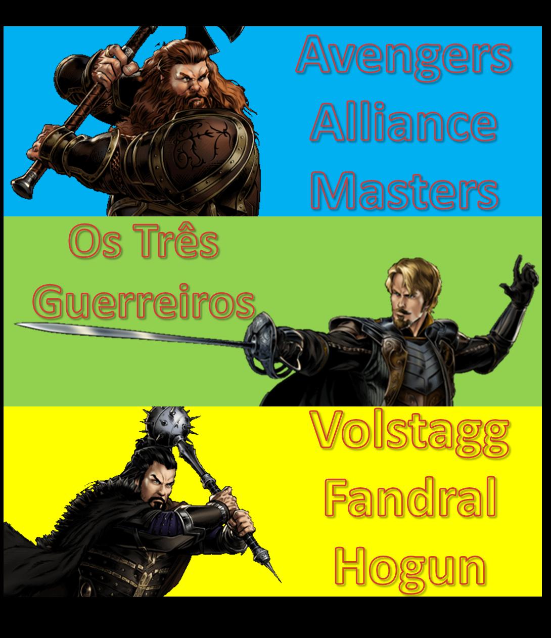Marvel Avengers Alliance Masters