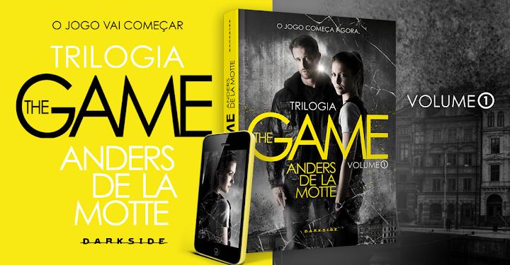 #LIVROS The Game - Anders De La Motte (DarkSide Books)