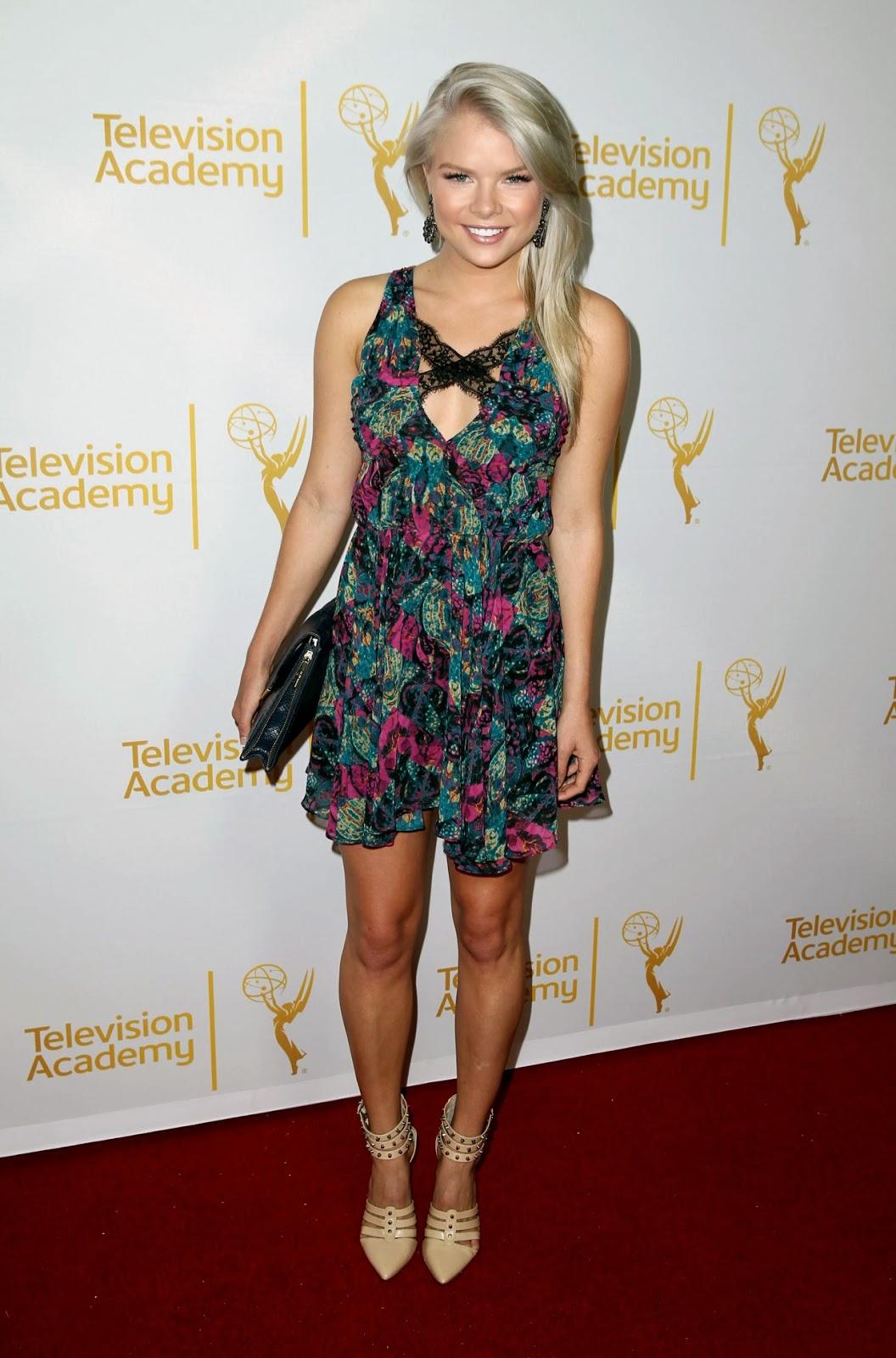 Kelli Goss - Daytime Emmy Nominee Reception June 2014