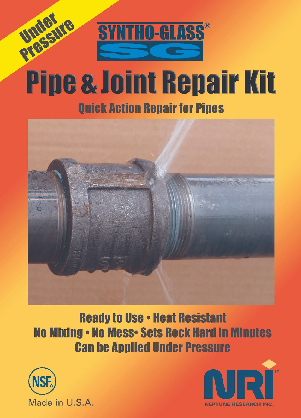 Online Leak Repair Kit for Pipeline - SYNTHO GLASS UP & NP PIPE ...