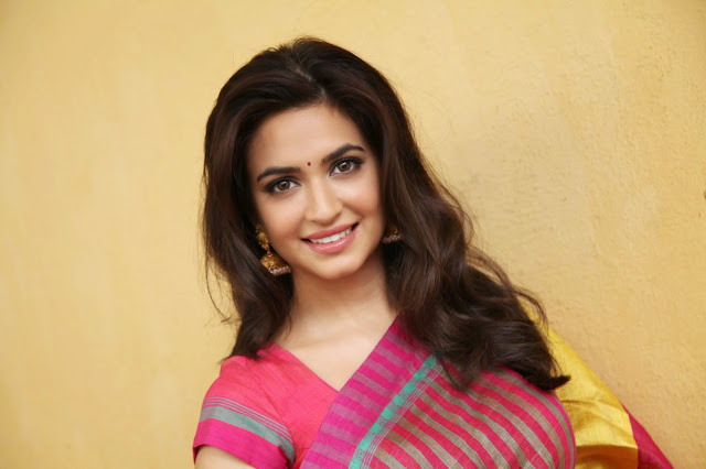 Krithi Kharbanda looks Beautiful in Saree glam pics must see