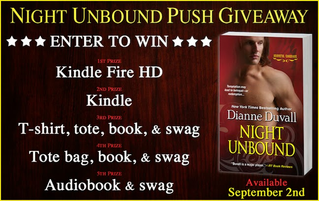 http://www.dianneduvall.com/NightUnboundPushGiveaway.htm