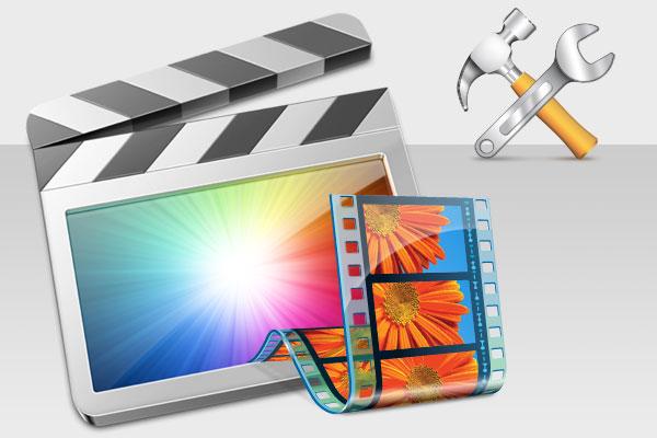 Windows Movie Maker искажает размер видео и создаёт зелёную область