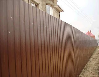 Забор из профлиста. Фото 2