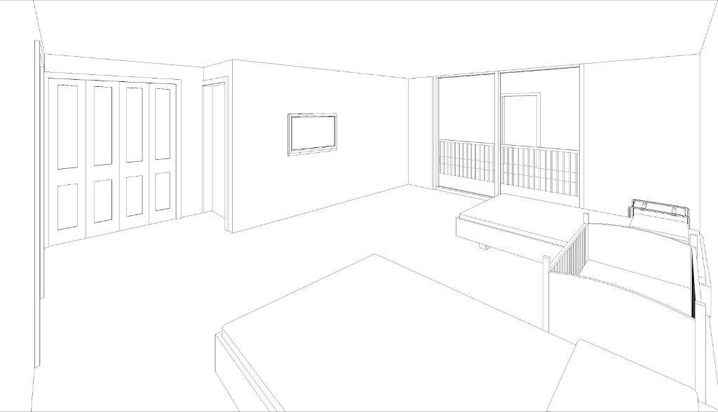 interiores 3  dise u00f1os de habitacion doble y suite