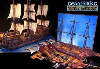 TerrainLinX Pirate+ship