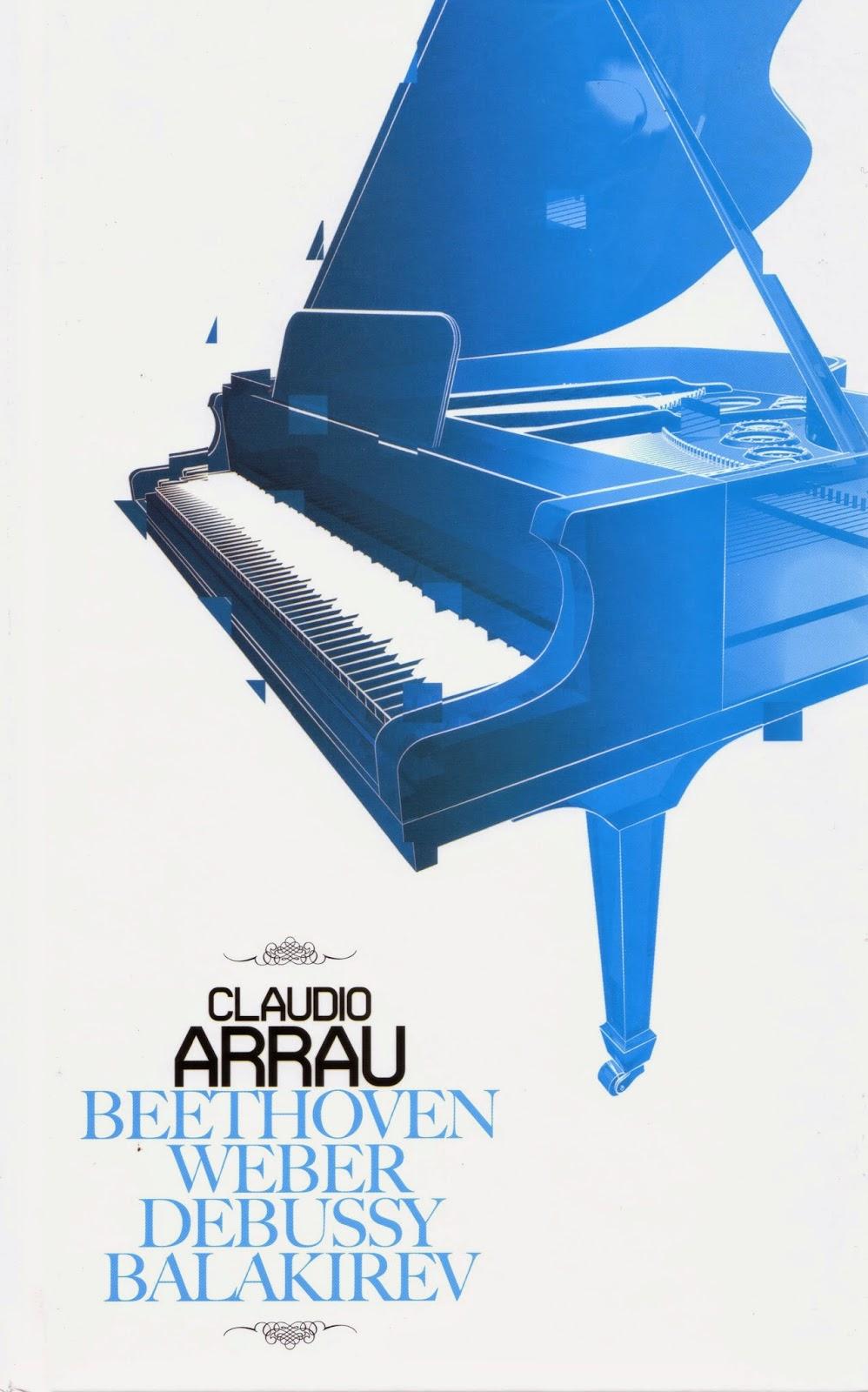 Imagen de Colección Los Genios del Piano-07-Claudio Arrau & Beethoven, Weber, Debussy y Balakirev