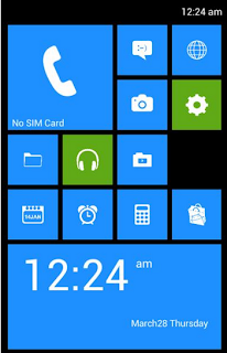 Windows 8 based custom Rom for Samsung Galaxy S Advance