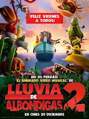 Lluvia de albondigas 2 (2013)