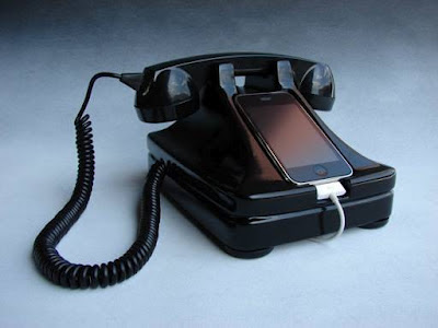 Dock rétro pour iphone
