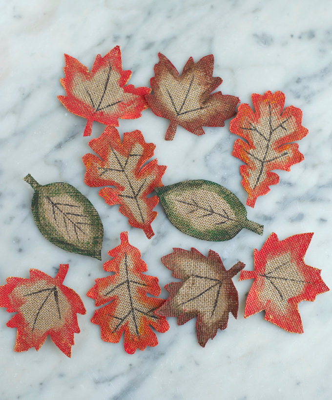 How_To_Make_fall_Leaves_from_Burlap