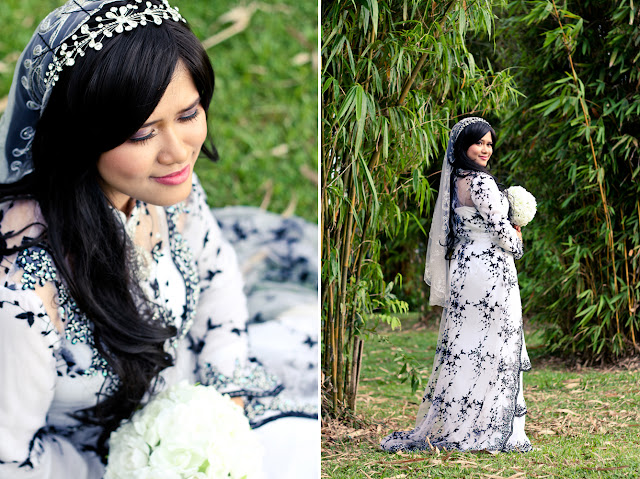 outdoor photoshoot hafizuddin & faraziana 1