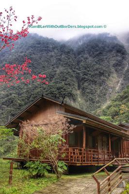 Log cabin, Leader Village, Taroko National Park, Taiwan