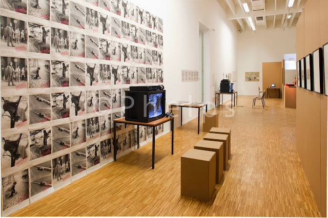 Ausstellung Performing East - Salzburg Kunstverein - Foto Andrew Phelps