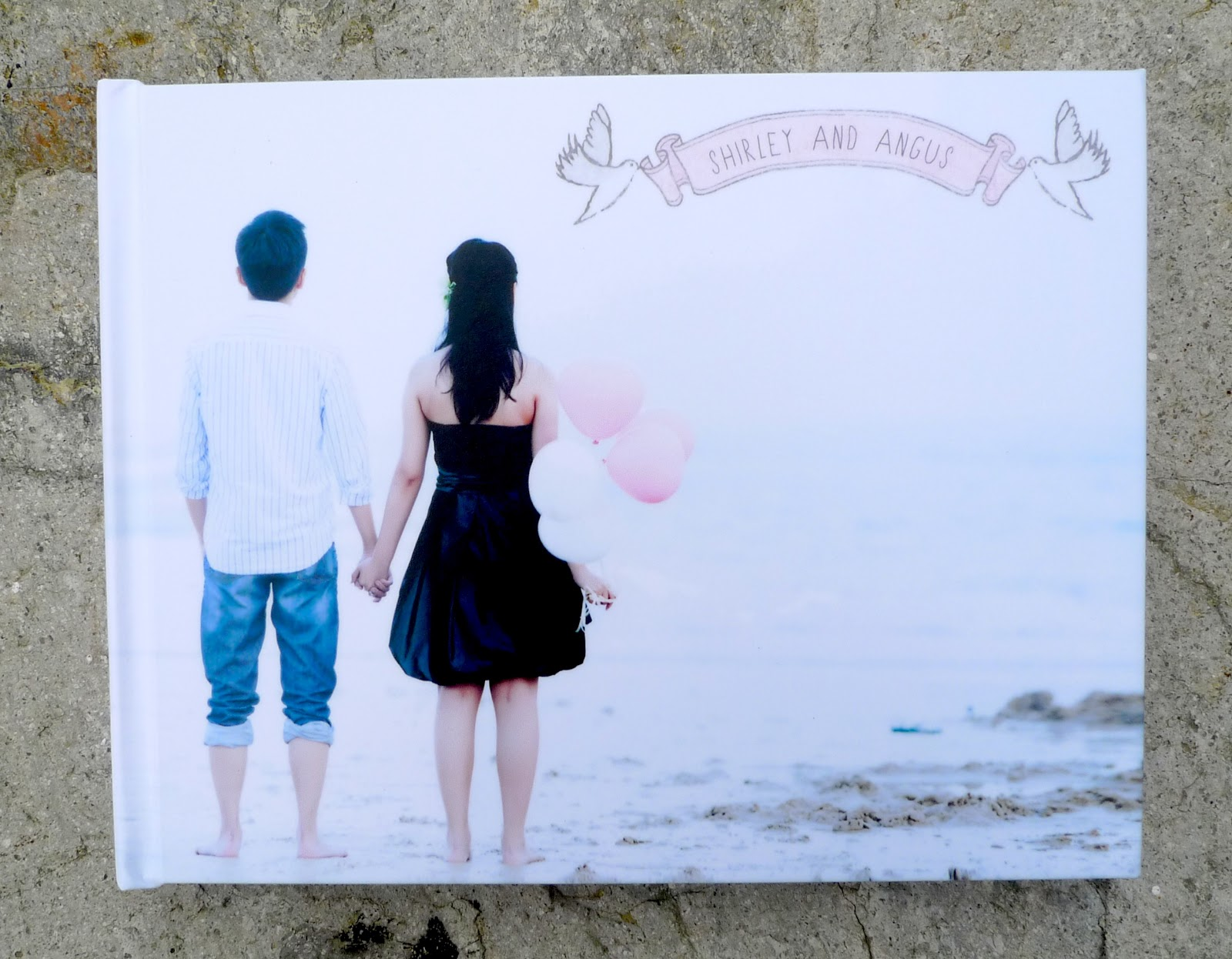 how to make a wedding photobook