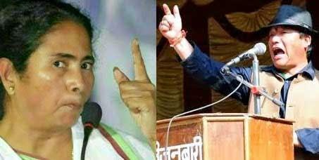 Angry Mamata Banerjee Bimal Gurung