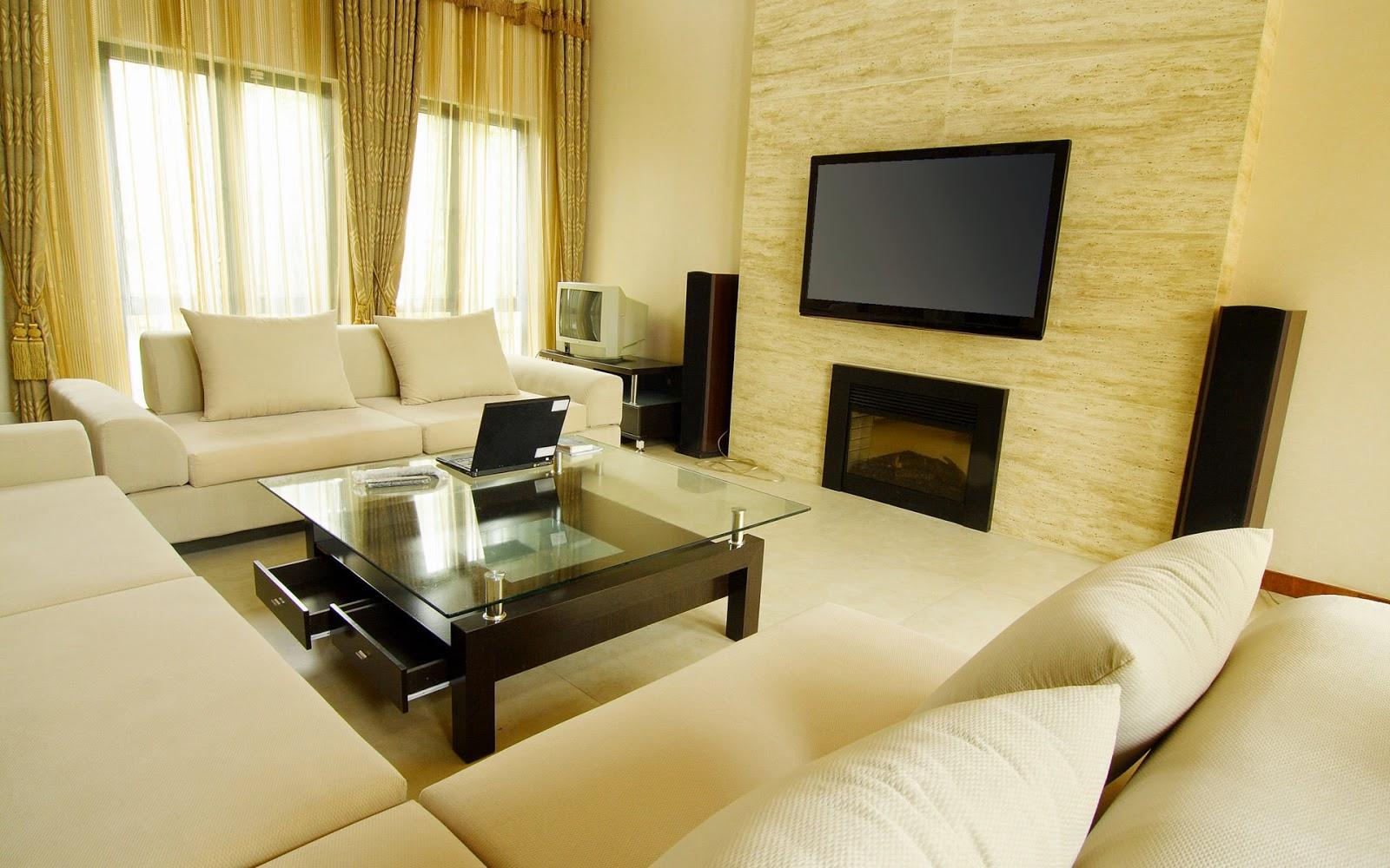 wallpaper dinding untuk ruang keluarga