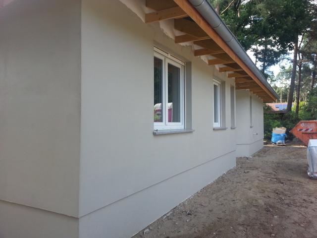 Fassadenfarbe grau  Aileen und Patrick bauen: Fassade