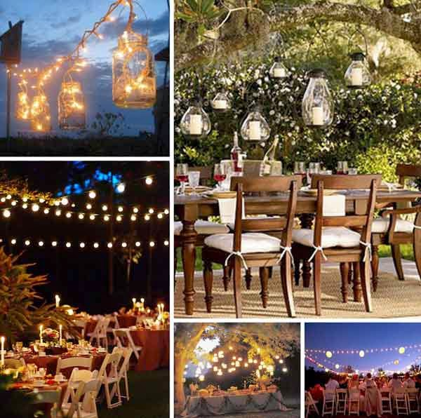 Rustic Wedding Rehearsal Dinner Decorations pictures