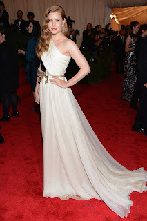 Amy Adams in Met Gala 2012