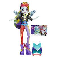 Equestria Girls Rainbow Dash Motorcross Doll