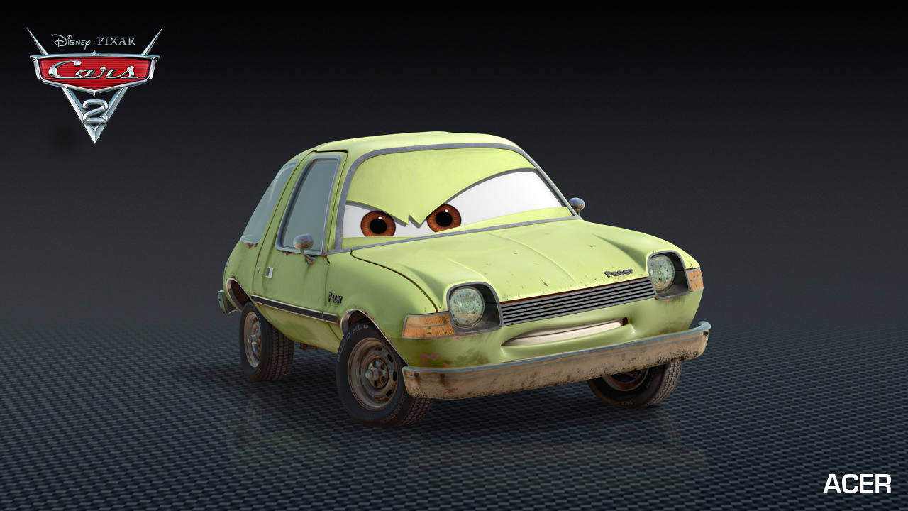Watch Cars 2 Online Another Professor Z Minion In Cars 2