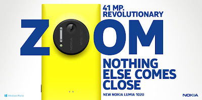 Nokia Lumia 1020 Yellow 41MP Revolutionary Zoom Camera Nothing Else Comes Close